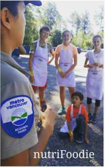 Kids Outdoors with Park Interpreter - Nature's Kitchen: cooking camp for kids in Vancouver