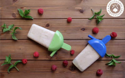 Pina Colada White Bean Summer Popsicles