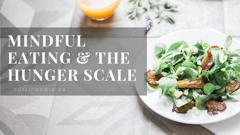 mindful eating hunger scale
