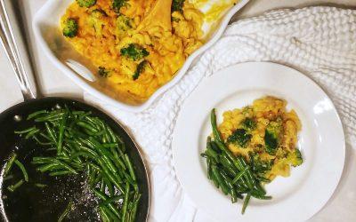 Kabocha Squash Macaroni and Cheese