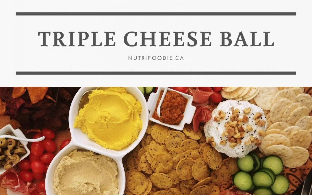 Triple Cheese Ball