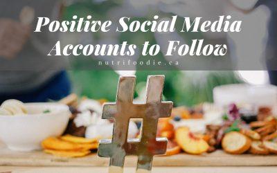 Positive Social Media Accounts to Follow