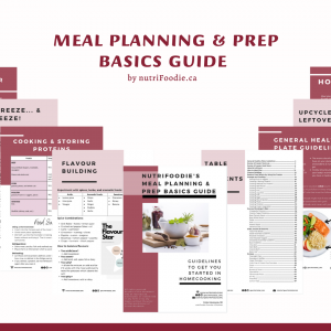 Meal Planning & Prep Guide (65+ pages)
