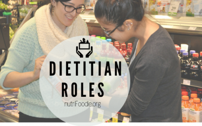Dietitians in Specialized Roles: What Do Dietitians Do?