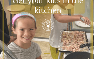 Get Your Kids In The Kitchen: Everyday Resolutions Tip #6